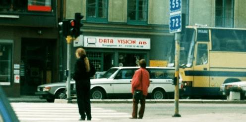 Data Vision 1991, kungsgatan 47 i Uppsala